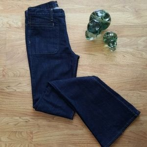 Theory High Waisted Flare Jeans Size 27
